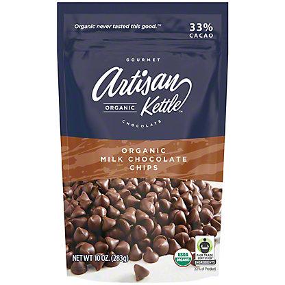 Artisan Kettle Gourmet Organic Chocolate Chips, 10 oz