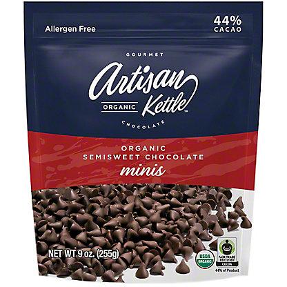 Artisan Organic Semisweet Chocolate Mini Chips, 9 oz