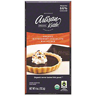 Artisan Bittersweet Chocolate Baking Bar, 4 oz