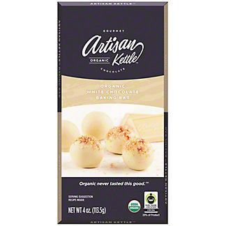Artisan White Chocolate Baking Bar, 4 oz