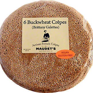 Maudet's  Buckwheat Crepes 6 ct, 8 OZ
