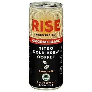 Rise Brewing Co Cold Brew Nitro Black Coffee, 7 oz