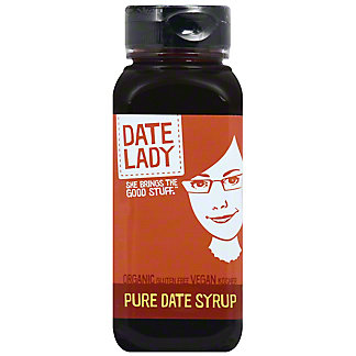 Date Lady Pure Date Syrup, 12 oz