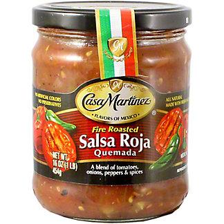 Casa Martinez Salsa Quernada Fire Roasted, 16 oz