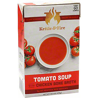 Kettle & Fire Tomato Soup, 16.9 oz