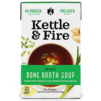 Kettle & Fire Miso Soup, 16.9 oz