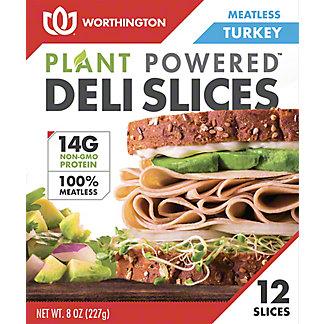 Worthington Deli Slices Turkey, 8 oz