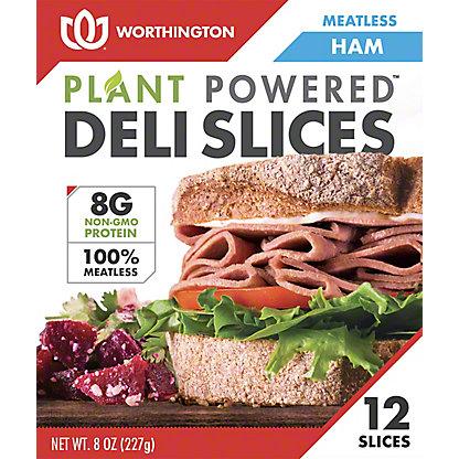 Worthington Deli Slices Ham, 8 oz