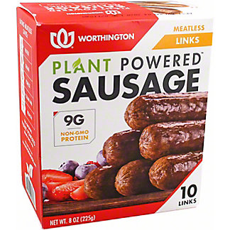 Worthington Sausage Links, 8 oz