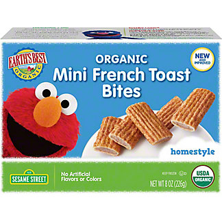 Earths Best Frozen French Toast, 8 OZ