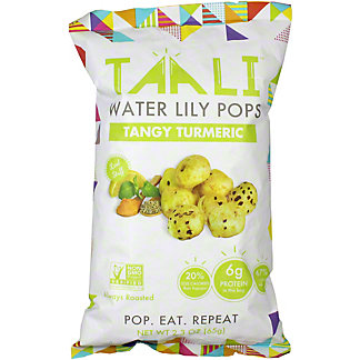 Taali Water Lili Pops Tumeric, 65 G