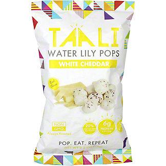 Taali Water Lili Pops White Cheddar, 65 g