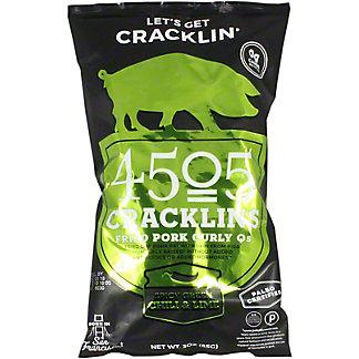 4505 Green Chile Lime Cracklins, 3 oz