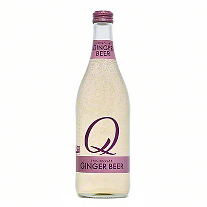 Q Drinks Ginger Beer, 16.9 oz