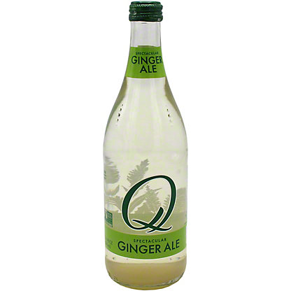 Q Q Drinks Ginger Ale, 16.9 oz