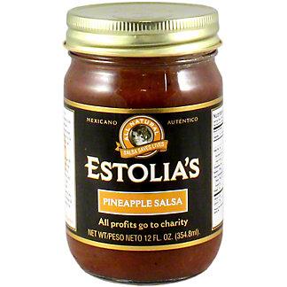 Estolia's Pineapple Salsa, 12 OZ