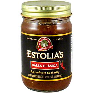 Estolia's Salsa Clasica, 12 OZ