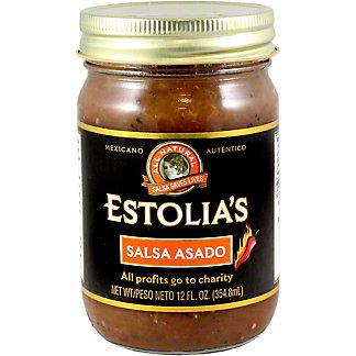 Estolia's Salsa Asado, 12 OZ