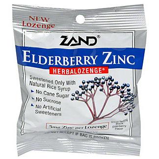 Zand Zand Elderberry Zinc Lozenge, 15 ct