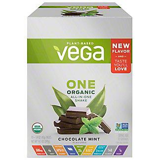 Vega One Organic Chocolate Mint Box, 10 CT