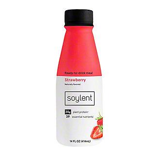 Soylent Strawberry Drink, 14 oz