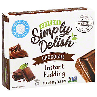 Simply Delish Chocolate Pie Filling, 1.7 oz