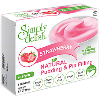 Simply Delish Strawberry Pie Filling, 1.6 OZ