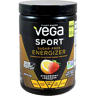 Vega Sport Energizer Sugar Free Strawberry Lemon, 4.3 OZ