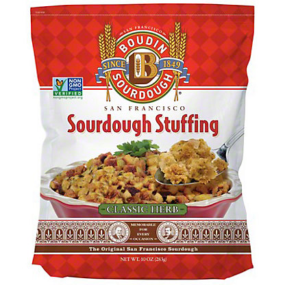 Boudin Sourdough Classic Herb Stuffing Mix, 10 OZ