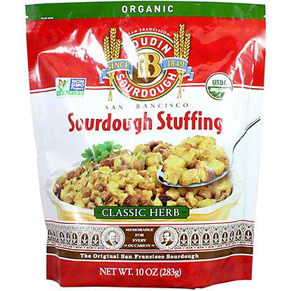 Boudin Sourdough Organic Classic Herb Stuffing Mix, 10 OZ