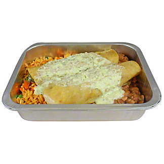 Chef Prepared Hatch Chicken Enchilada Dinner For One, ea