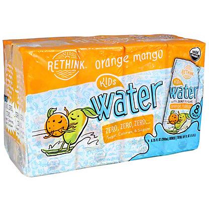 Rethink Water Orange Mango Sugar Free, 8PK