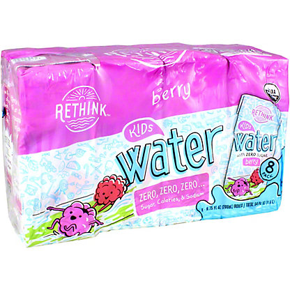 Rethink Water Berry Sugar Free, 8 PK