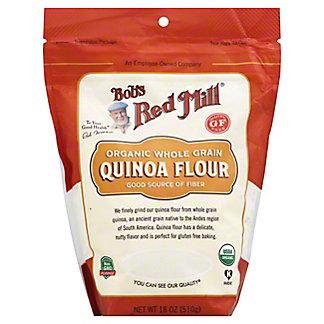 Bob's Red Mill Organic Whole Grain Flour Quinoa, 18 oz