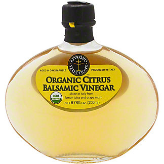Ritrovo Organic Citrus Balsamic Vinegar, 200 ML