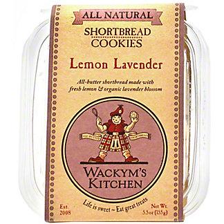 Wackym's Cookies Lemon Lavender Shortbread, 5.5 OZ