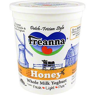 Freanna Yogurt Honey Tub, 32 OZ