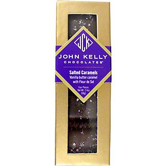 John Kelly Chocolate Caramel Fleur De Sel Salt, 2.4 oz