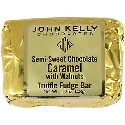 John Kelly Semi Sweet Chocolate Caramel With Walnuts, 1.7 OZ