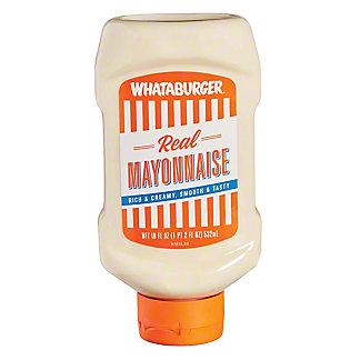 Whataburger Real Mayonnaise, 18 oz