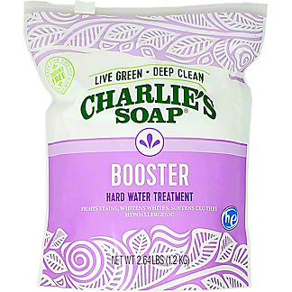 Charlie's Soap Booster Hard Water Treatment, 2.6 lb