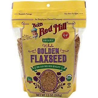 Bobs Red Mill Golden Flaxseed Organic Gluten Free, 13 OZ