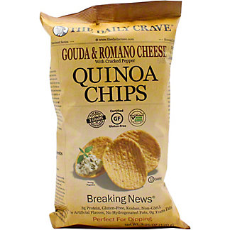 The Daily Crave Quinoa Chips Gouda & Romano, 4.25 OZ