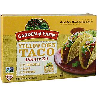 Garden of Eatin Taco Dinner Kit Yellow Organic, 9.4 oz