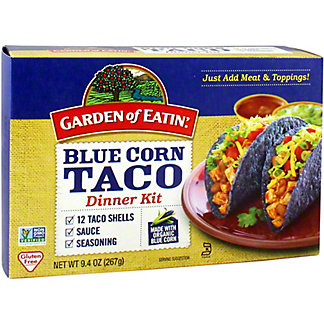 Garden of Eatin Organic Taco Dinner Kit Blue, 9.4 oz