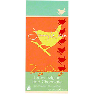 Jenny Wren Orange & Almond Sharing Bar, 100 g
