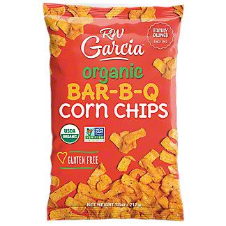 RW Garcia Organic BBQ Corn Chips, 7.5 OZ