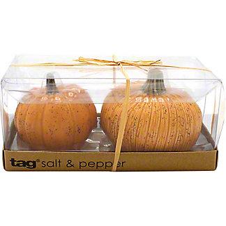 Tag Oversized Rustic Pumpkin Salt & Pepper Set, 2 piece