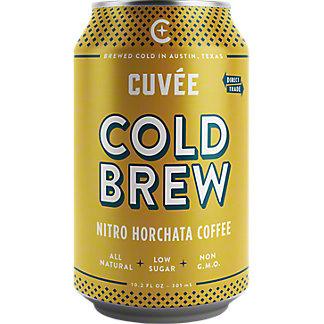 Cuvee Coffee Cold Brew Nitro Horchata Coffee, 10.2 oz