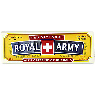 Royal Army White Chocolate with Caffeine, 50 g